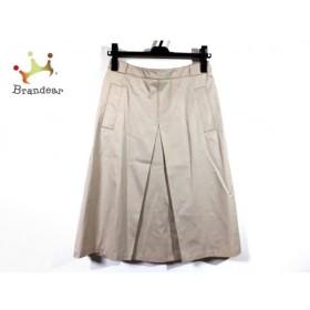 マックスマーラ Max Mara スカート サイズ40 M レディース 美品 ベージュ  値下げ 20190912