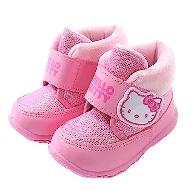 優質保暖舒適耐穿專櫃款高筒雪靴,好穿又漂亮HELLO KITTY授權圖案設計漂亮可愛,俏麗搶眼