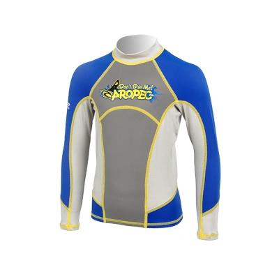 AROPEC Skipjack 飛魚兒童長袖防曬衣 藍