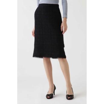 JILLSTUART ◆《Endy ROBE》ノラツィードタイトスカート ネイビー 4