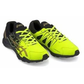 アシックス ランニングシューズ スニーカー 男の子 キッズ 子供靴 運動靴 通学靴 asics 1154A033 セーフティイエロー/リッチゴールド