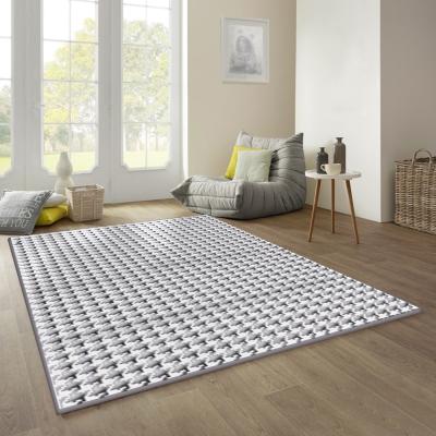妮絲 進口仿羊毛地毯 - 水漣 (160 x 230cm)