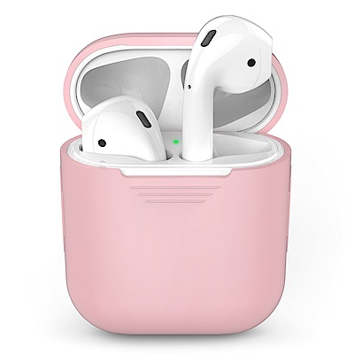 AHAStyle PodFit - AirPods 專用矽膠保護套 粉色