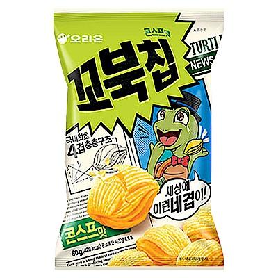 好麗友 烏龜玉米脆片(80g)