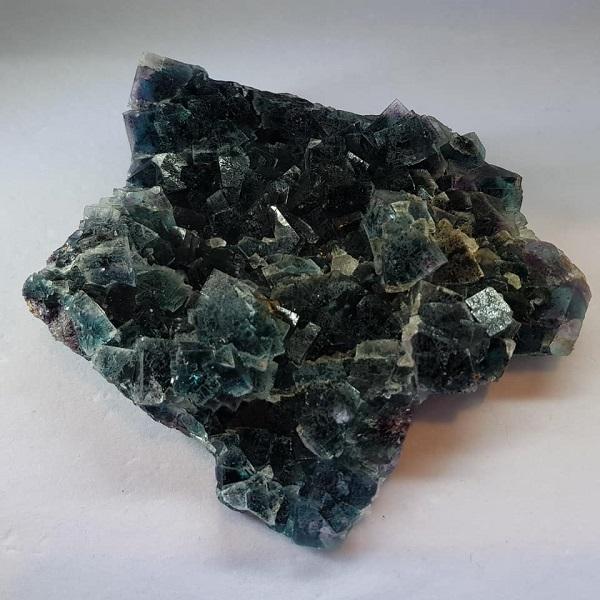【土桑展精選寶物】納米比亞六面體雙色螢石原礦1號