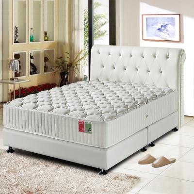 Ally愛麗 五星飯店用-矽膠-雲端蜂巢獨立筒床墊-單人3.5尺