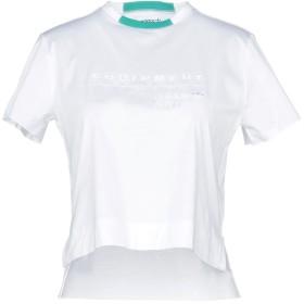 《セール開催中》ADIDAS レディース T シャツ ホワイト 40 コットン 100%