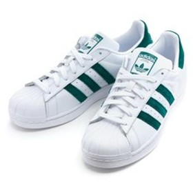 【ABC-MART:シューズ】EE4473 SUPERSTAR WHITE/GREEN 591616-0001