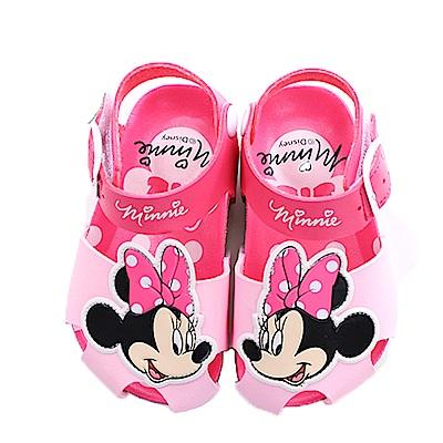 魔法Baby 童 迪士尼米妮正版女童涼鞋 sk0414