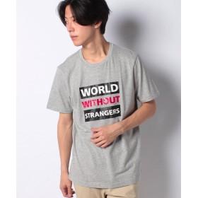 【18%OFF】 ジョルダーノ [GIORDANO]プリント半袖Tシャツ メンズ グレー XL 【GIORDANO】 【セール開催中】