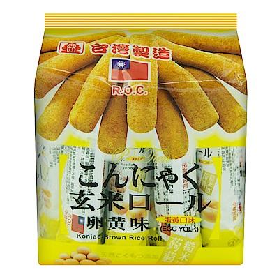 北田 蛋黃蒟蒻糙米捲(160g)