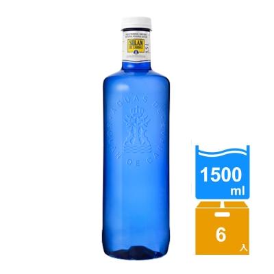 西班牙神藍Solan 天然礦泉水(1500mlx6瓶)