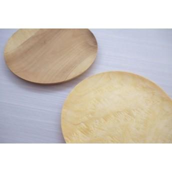 朝食プレート 飛騨の木から生まれた森を守るお皿(プレーン)[B0243]