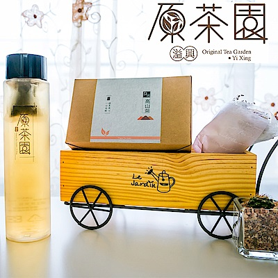 原茶園 台灣高山青心烏龍茶熟香型袋茶(25入x8盒)