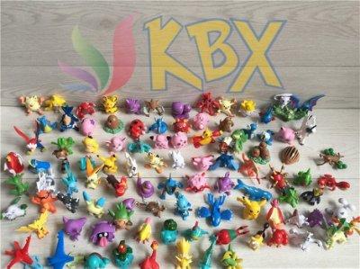 [KBX] 神奇寶貝公仔 200款 寵物小精靈公仔 Pokemon 精靈寶可夢公仔 模型玩偶玩具 皮卡丘公仔