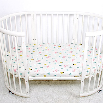 Muslin tree 嬰兒床單蓋被純棉嬰幼兒床單