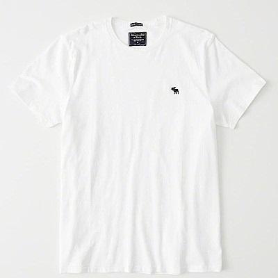 AF a&f Abercrombie & Fitch 短袖 T恤 白 0854