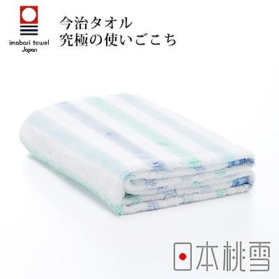 日本桃雪今治小花浴巾(蝴蝶藍)