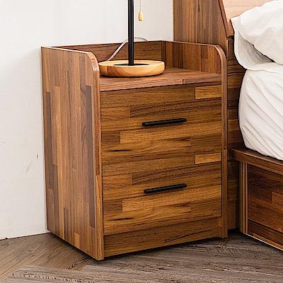 時尚屋 喬納斯1.3尺床頭櫃  寬40x深34x高52cm