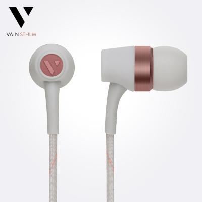 Vain STHLM 汎思 - Originals 初衷 入耳式線控耳機(冷冽灰)