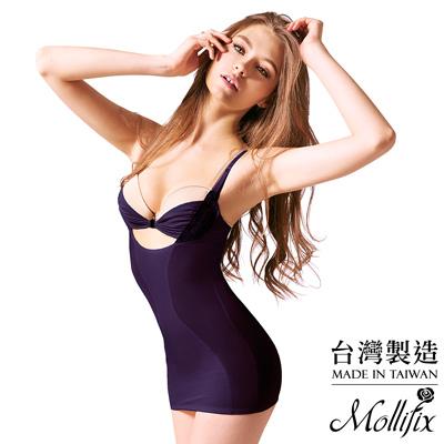 Mollifix瑪莉菲絲 波波好集中挺胸美型衣(寫意紫)