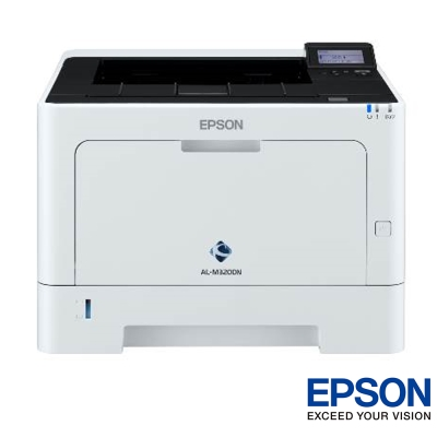 EPSON AL-M320DN 黑白雷射網路印表機