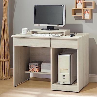 Boden-亞柏3.2尺電腦書桌/工作桌(贈電腦架)-96x54x75cm