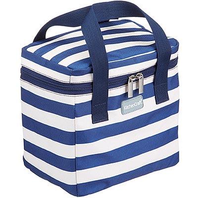 KitchenCraft 點心保冷袋(條紋藍4.9L)