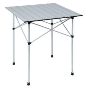 【セール】 アルパインデザイン キャンプ用品 ファミリーテーブル 2WAY アルミロールテーブル 70X70 AD-S18-402-021