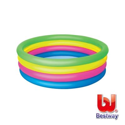 凡太奇。Bestway。彩虹四環充氣水池/泳池(51117)