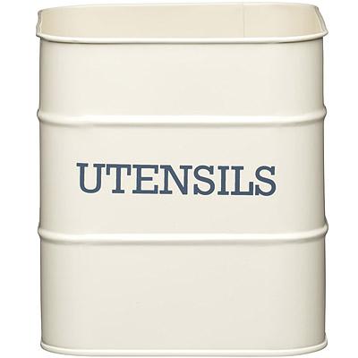 KitchenCraft 復古收納桶(奶油黃)