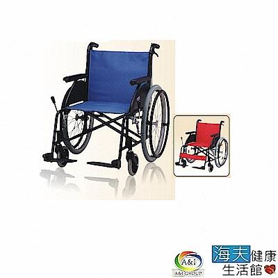 海夫健康生活館 康復 F-16鋁合金輪椅