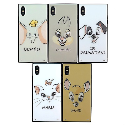 Disney迪士尼iPhone Xs玩具總動員方型殼_大臉
