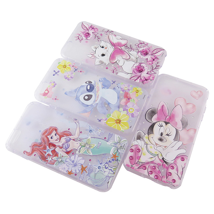 【Disney】迪士尼iPhone 6/6S(4.7)/iPhone 6/6S Plus(5.5)防摔氣墊空壓保護套-淡彩俏皮系列