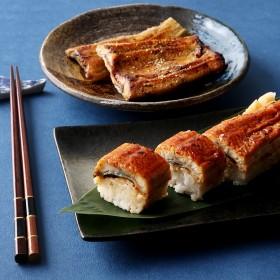 三代目むら上 職人手焼き浜名湖産 鰻蒲焼・鰻屋の国産鰻寿司 詰合せ