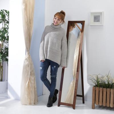 BuyJM 雅緻實木穿衣鏡/立鏡-寬33×深44×高153公分