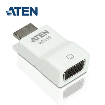 ATEN HDMI 轉VGA 視訊轉換器(VC810)