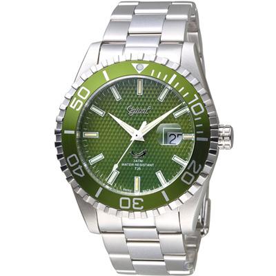 Ogival 愛其華 夜鷹氚氣燈管潛水型腕錶 3985TGSG