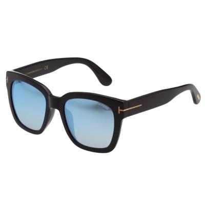 TOM FORD 中性款太陽眼鏡 黑色 TOM413D