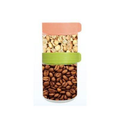 【AKWATEK】積木玻璃保鮮罐250ML+400ML 積木儲物罐  保鮮罐 零食罐 糖果罐 冰箱門 收納罐