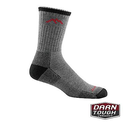 【美國DARN TOUGH】男羊毛襪MICRO CREW健行襪(2入隨機)
