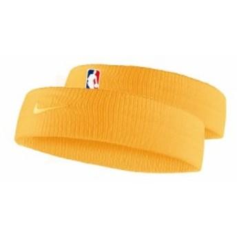 ナイキ バスケットボール アクセサリー ナイキ ヘッドバンド NBA NB1001 724 F ユニバーシティゴールド