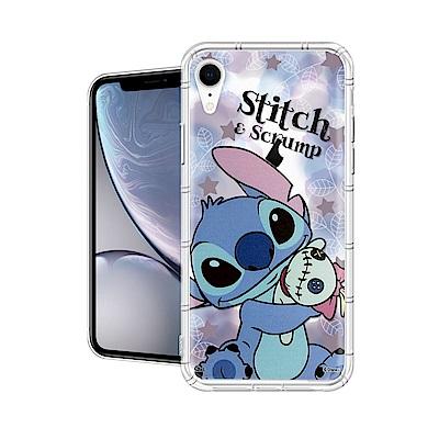 迪士尼授權正版 iPhone XR 6.1吋 繽紛空壓安全手機殼(史迪奇)