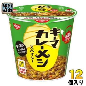 日清食品 日清キーマカレーメシ スパイシー 105g 12個入(6個入×2まとめ買い)〔 カップ飯〕