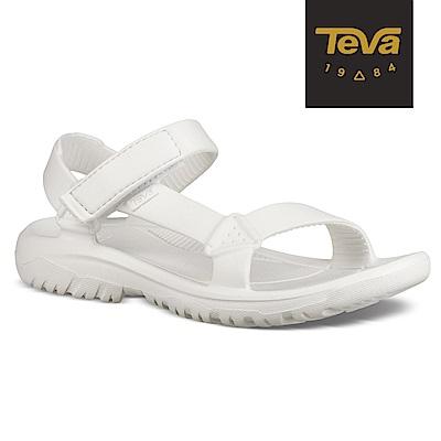 【TEVA】原廠貨 女 Hurricane Drift 水陸輕量涼鞋/雨鞋/水鞋(白-TV1102390WHT)