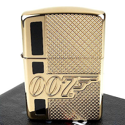 ZIPPO 美系~James Bond 007-詹姆士龐德圖案深刻