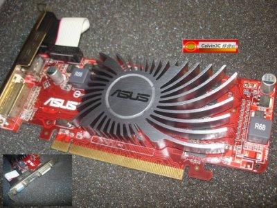 華碩 EAH5450 SILENT/DI/512MD3 HD 5450 DDR3 512M 原生HDMI 靜音 多重螢幕