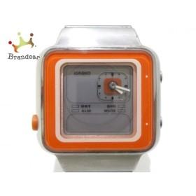 カシオ CASIO 腕時計 美品 FUTURIST LAQ-2000D ボーイズ ライトグレー 新着 20190618