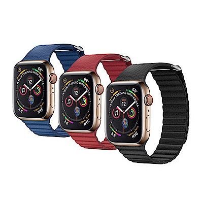 QIALINO Apple Watch (42/44mm) 真皮製回環形錶帶