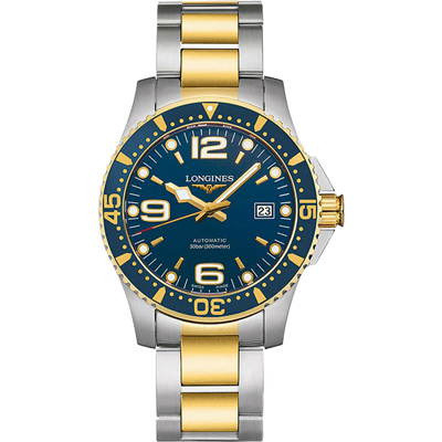 LONGINES 浪琴 300米半金藍面潛水款 41mm L37423967